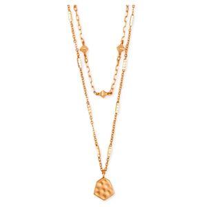 Kendra Scott Clove Multi Strand Necklace Rose Gold